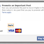 Facebook betalen
