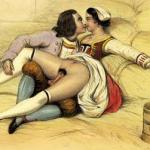 Oude erotische kunst