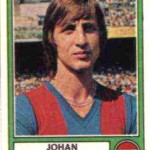 Johan Cruyff Panini plaatje