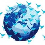 sociale media en de wereld