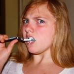 Tanden poetsen reuze leuk